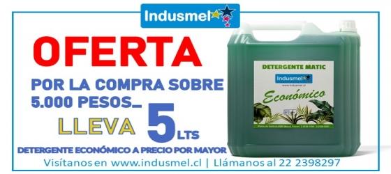 Promoción 30 Litros Lavaloza Concentrado INDUSMEL