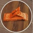 Repuesto Mopa Microfibra Chenille Multiuso lavable 41 x 13 Naranja