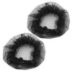 Redecilla negra tejida 100 unidades