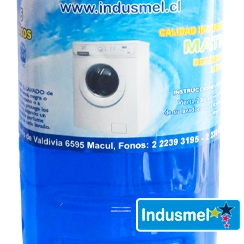 Detergente Líquido Calidad Intermedia Indusmel 2 Litros