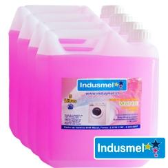Detergente l quido concentrado indusmel 5 litros indusmel for Precio litro cloro liquido