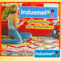 Shampoo Alfombra Indusmel 5 Litros