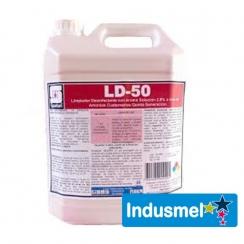 LIMPIADOR DESINFECTANTE A BASE DE AMONIO SPARTAN   5 litros