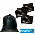 Bolsas de Basura Negra 10 Unidades 70 X 90 X 0,40 Micrones especial papeles