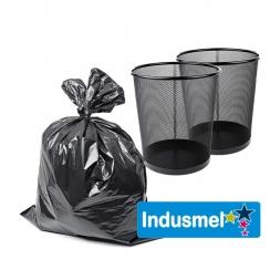 Bolsas de Basura Negra 10 Unidades 50 X 50 X 30 Micr.